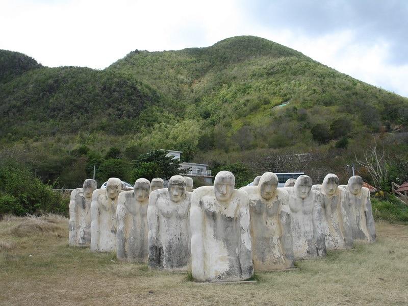 Cap 110, Mémorial esclavage, Martinique