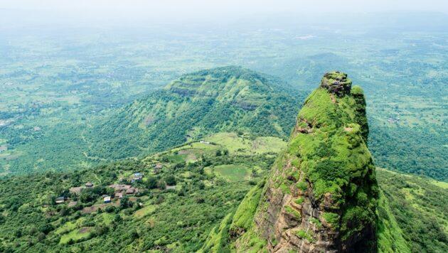 Le fort Kalavantin Durg près de Panvel en Inde