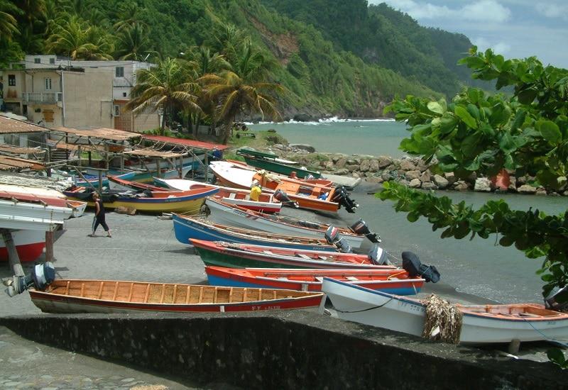 Grand'Rivière, Martinique