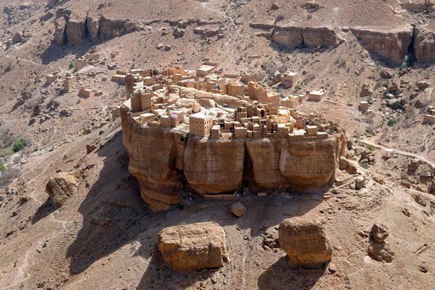 Le village perché d'Haid Al-Jazil au Yémen sort tout droit d'un conte fantastique