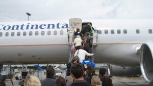 Méthode d'embarquement d'un avion