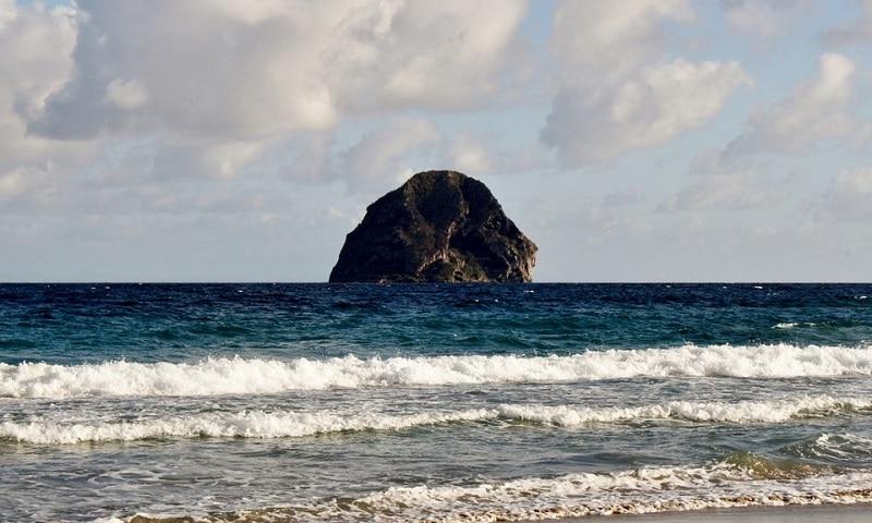 Rocher du Diamant, Martinique