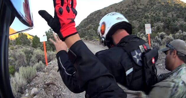 Voilà ce qui arrive quand deux motards tentent de pénétrer dans la Zone 51
