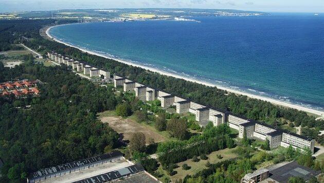 Prora : un immense complexe nazi transformé en cité balnéaire de luxe
