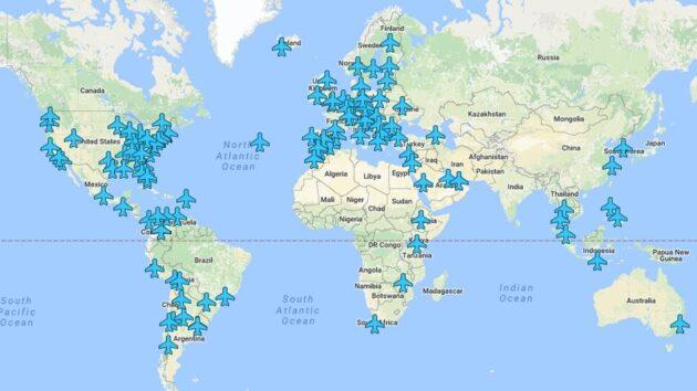 Wifox, la carte qui vous donne le code Wi-Fi de tous les aéroports