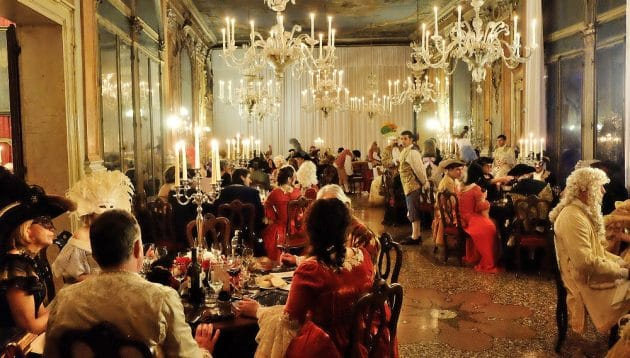 Carnaval de Venise : Assistez au Grand Bal costumé «Ballo Tiepolo»