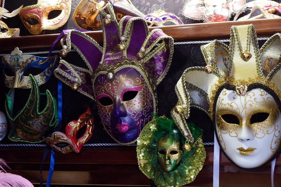 Des masques du Carnaval de Venise