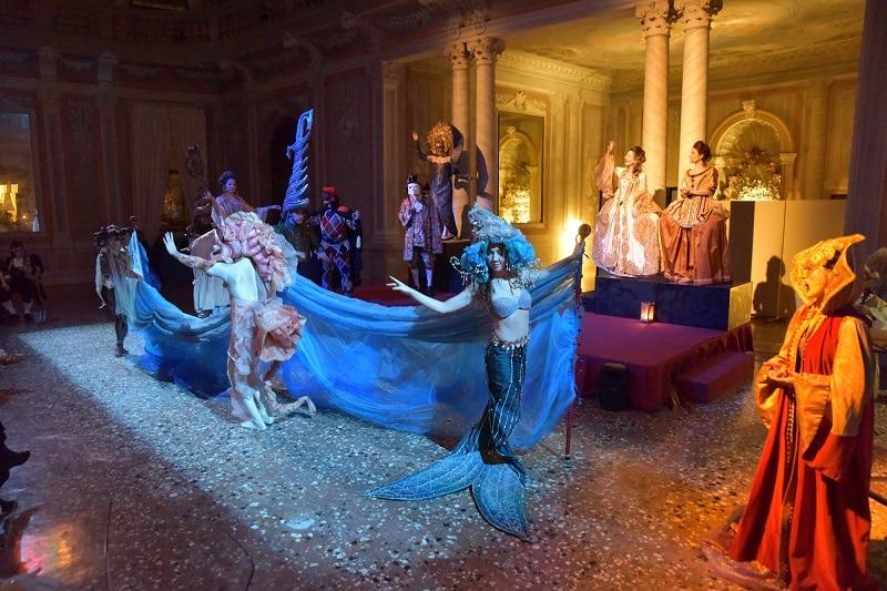 Dîner spectacle à l'hôtel Monaco & Grand Canal de Venise