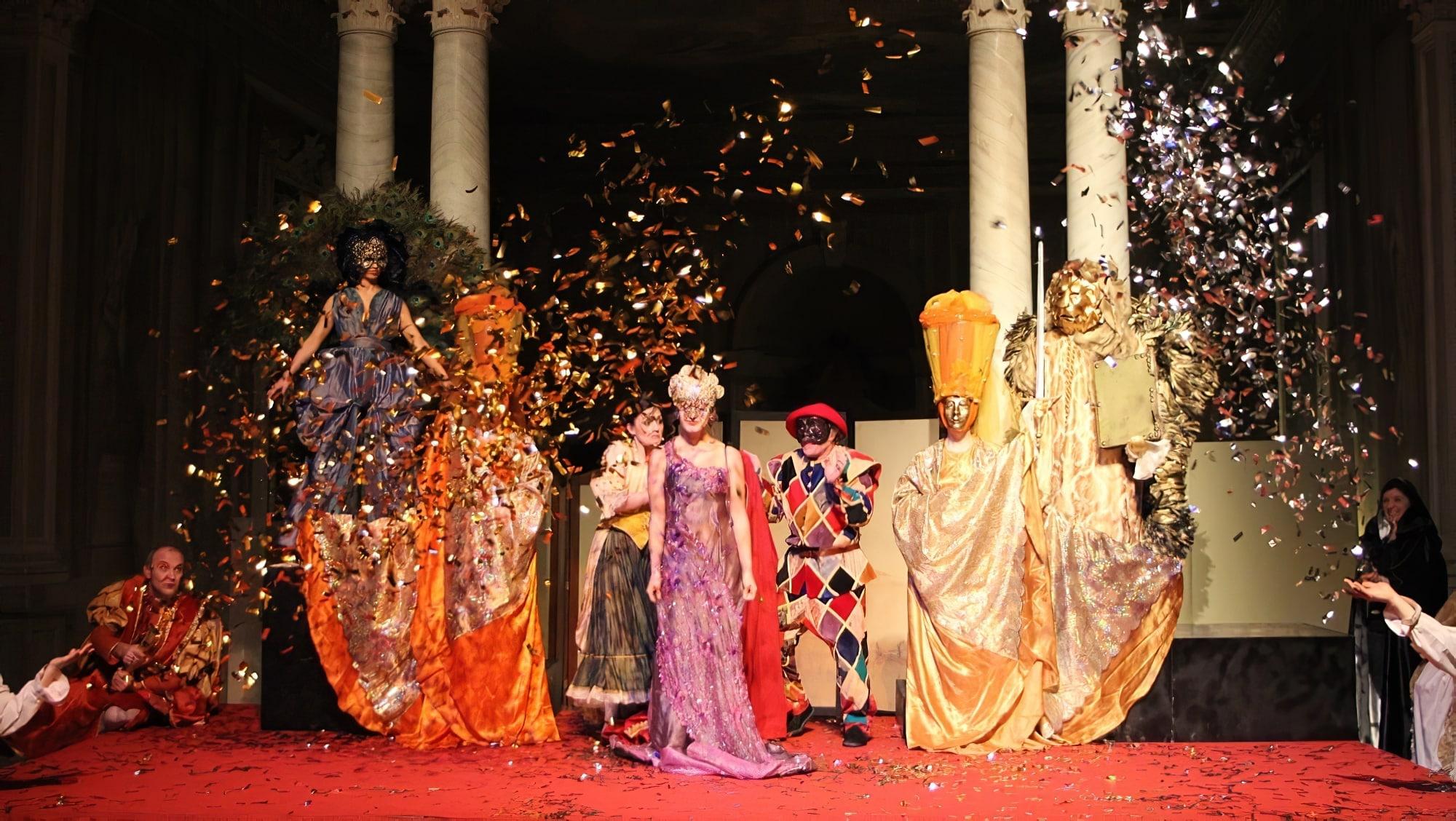 Carnaval de Venise : Dîner spectacle en costume à l'hôtel Monaco & Grand Canal