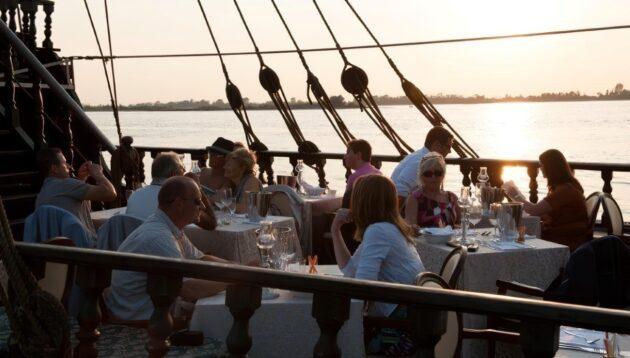 Passez une soirée du Carnaval à Venise à bord d'un galion à voiles