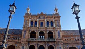 Palais place d'Espagne, Séville