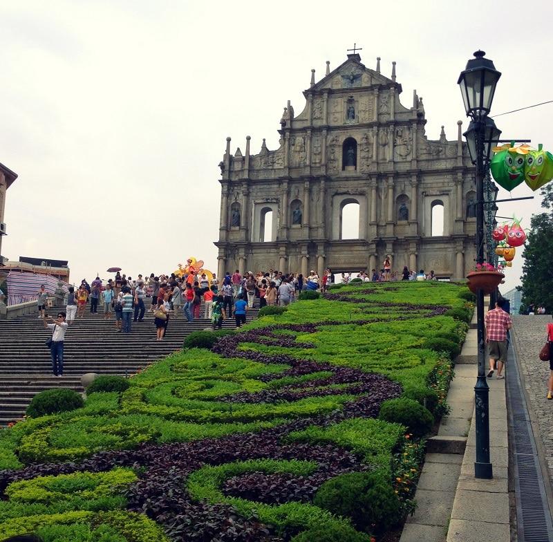 Ruines de la cathédrale Saint-Paul, Macao
