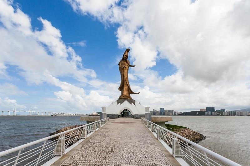 Statue Kun Iam, Macao