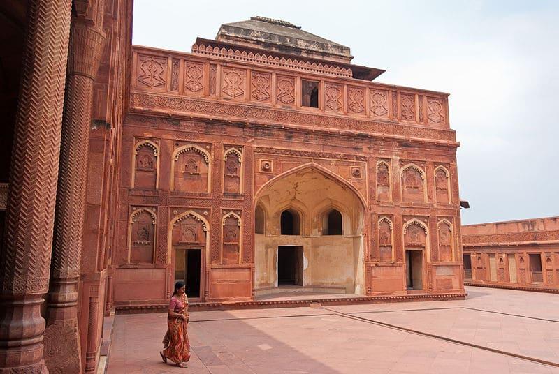 Jahangiri Mahal, Fort d'Agra