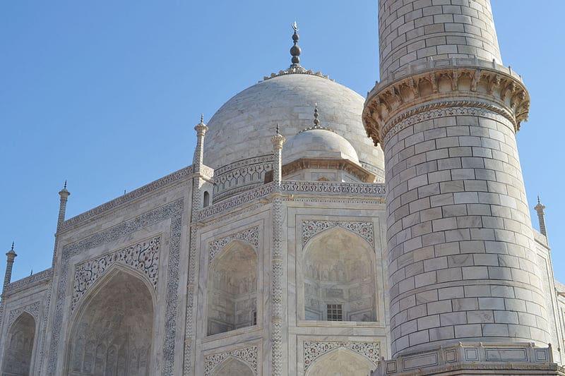 Minaret du Taj Mahal