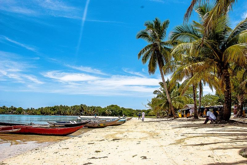 Plage sur l'île aux Nattes, Madagascar