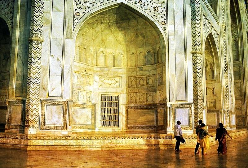 Taj Mahal, lumière