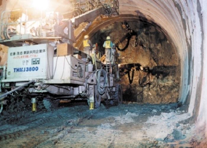 Tunnel Iwate-Ichinohe