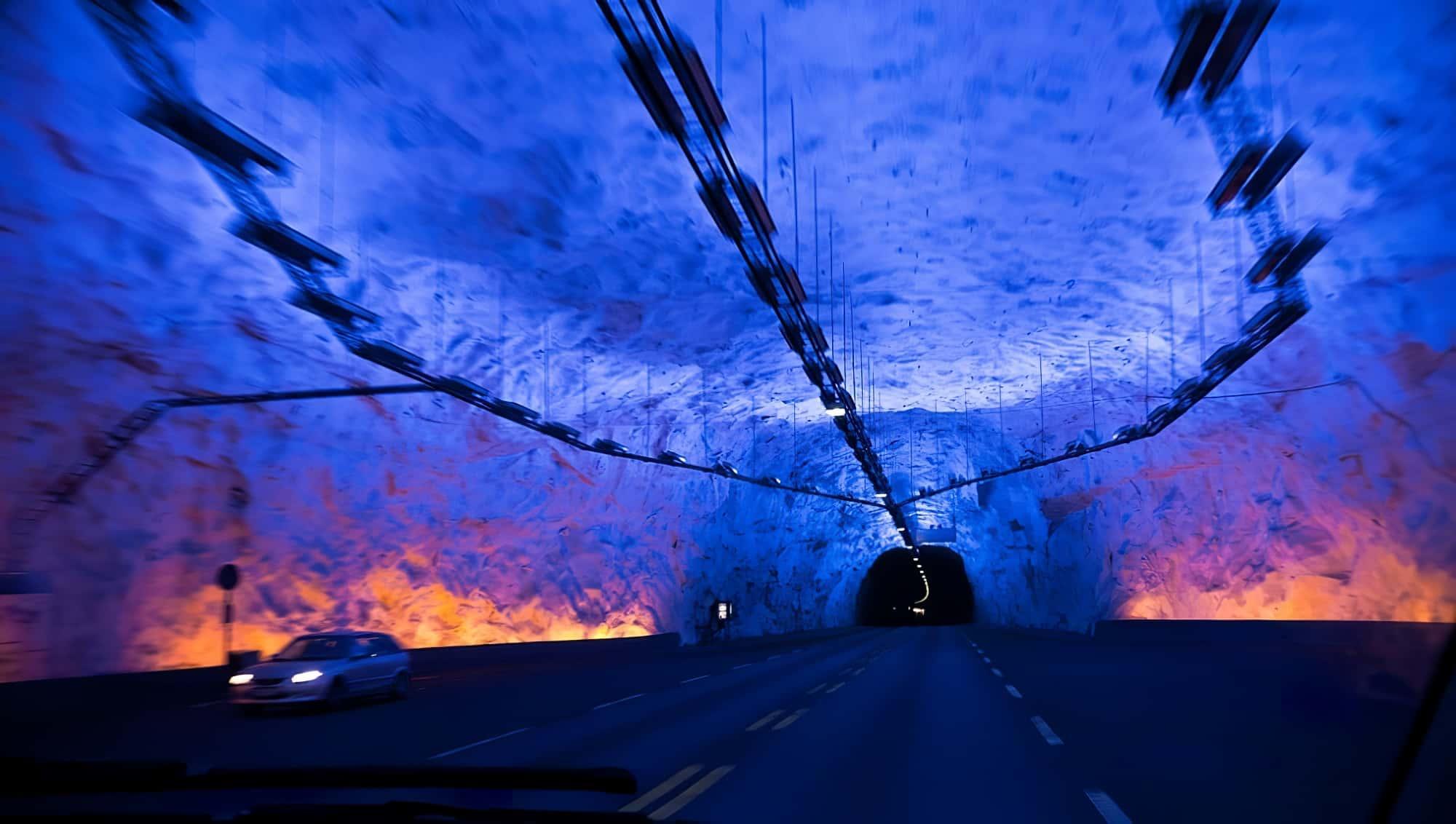 Tunnel de Lærdal