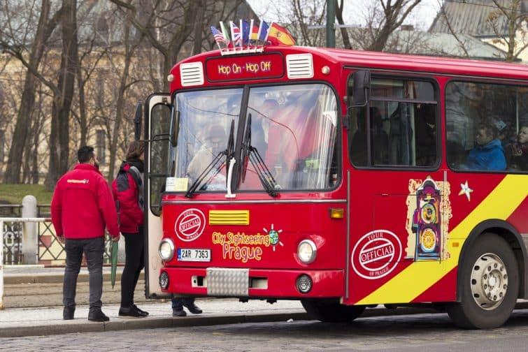 Shuttle Bus à Prague