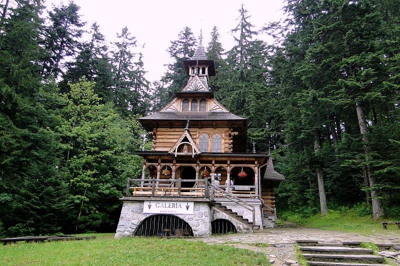 Chapelle Jaszczurówka à Zakopane