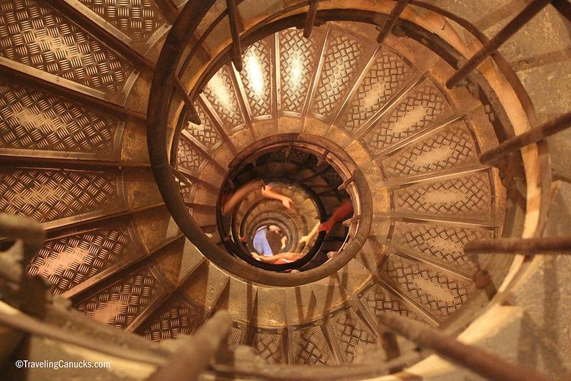 Escalier de l'Arc de Triomphe