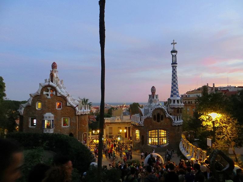 Maison Gaudi, Parc Guell, Barcelone
