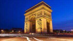 Arc de Triomphe de nuit