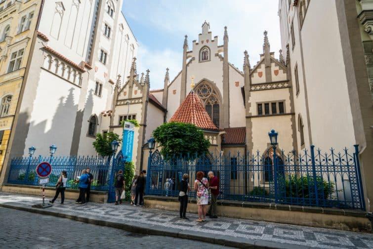 Entrée du musée juif à Prague