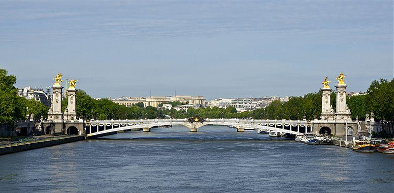 pont alexandre 3 paris croisiere seine