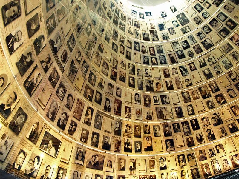 Salle des noms, Yad Vashem, Jerusalem