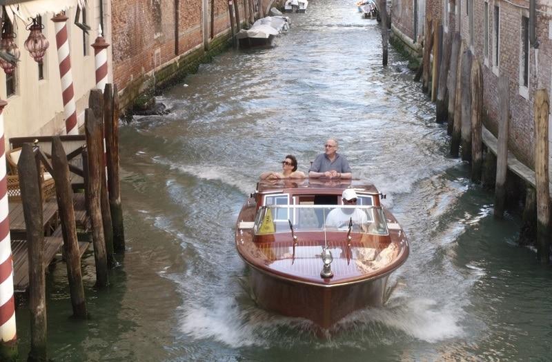Taxi-bateau à Venise