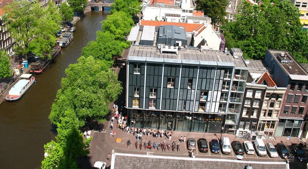 Marchez sur les pas d'Anne Frank lors d'une visite d'Amsterdam