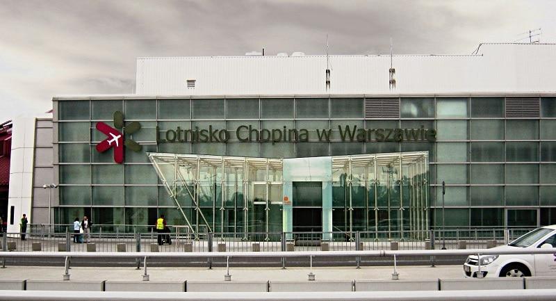 Transfert aéroport Chopin vers Varsovie