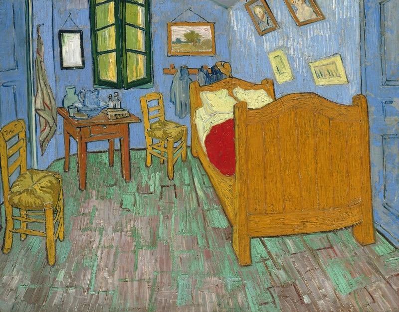 Vincent Van Gogh, la Chambre à Coucher