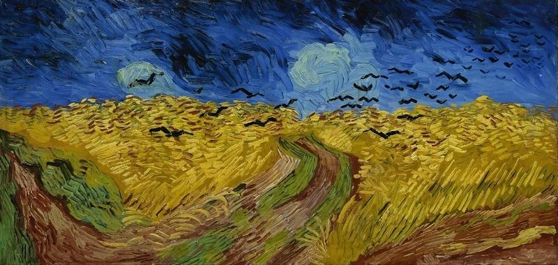 Vincent Van Gogh, Le champs de blé aux corbeaux