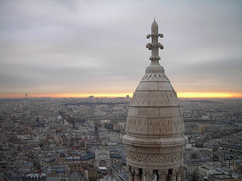 Vue du dôme du Sacré-Cœur