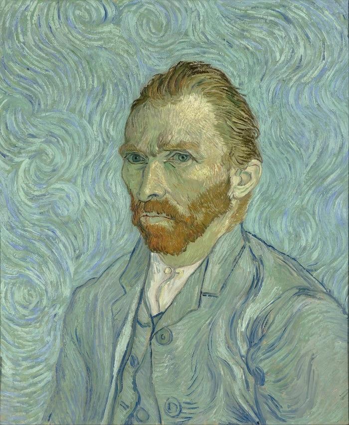 Autoportrait Van Gogh au Musée d'Orsay