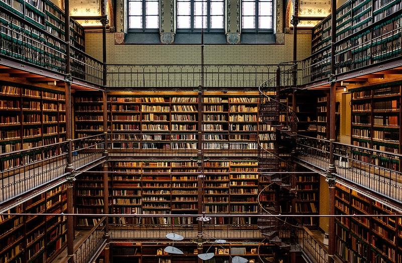 La bibliothèque du Rijksmuseum