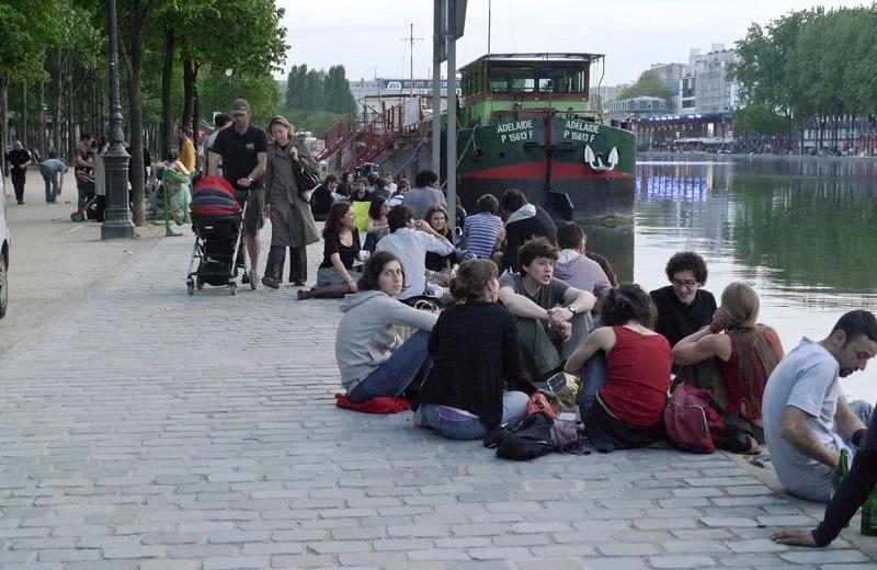 Canal Ourcq, Paris