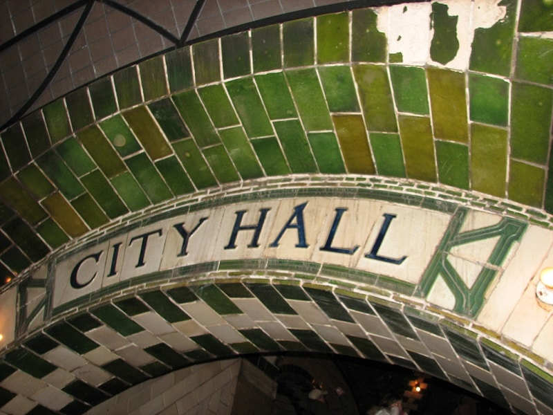 Carrelage City Hall Station, New York