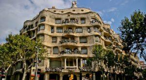 Casa Mila à Barcelone