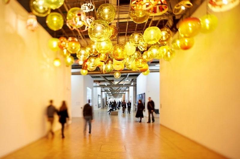 Intérieur du Centre Pompidou