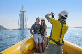 Croisière en zodiac à Dubaï