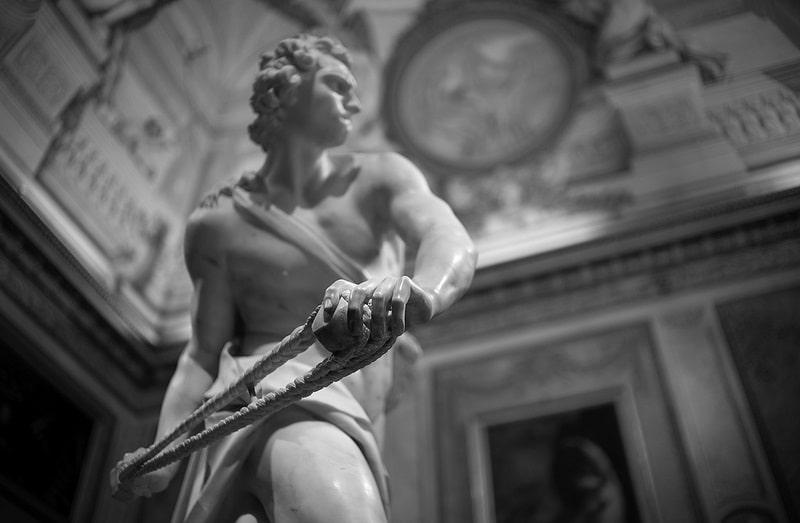 David, Gallerie Borghese, Rome