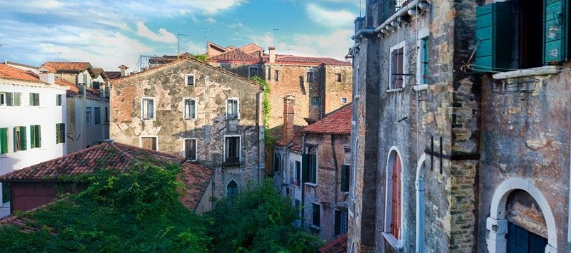 Hotel quartier San Polo, Venise