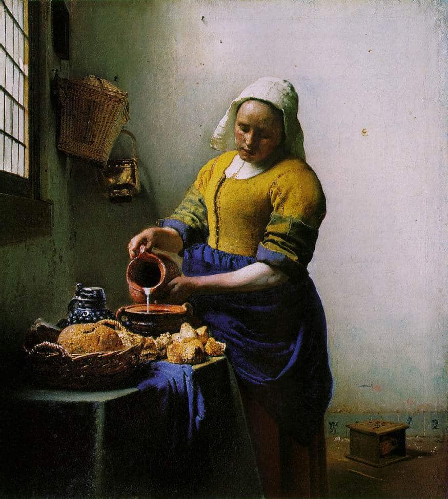 La Laitière, de Vermeer au Rijksmuseum d'Amsterdam