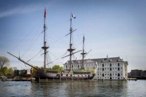 Musée de la marine à Amsterdam