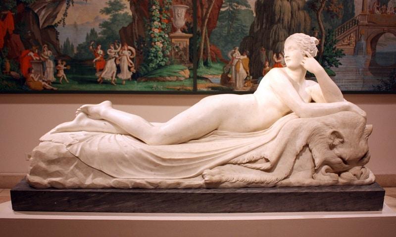 Statue de Naiad, Galerie Borghese