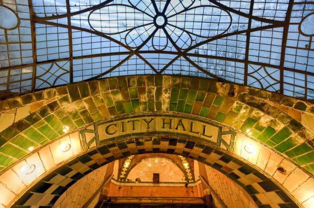 Station de métro City Hall:un secret hors du temps dans les sous-sols de New York!